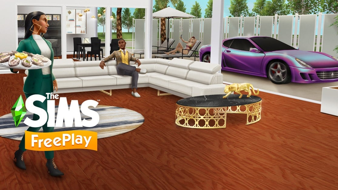 Le glamour revient chez Les Sims Freeplay