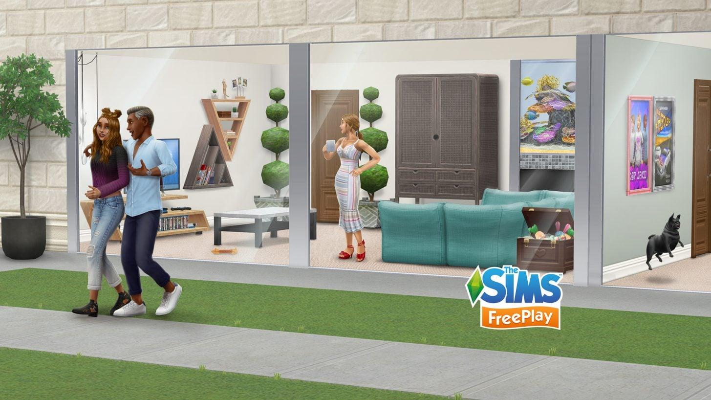 L'événement Mobilier Familial commence chez les Sims Freeplay
