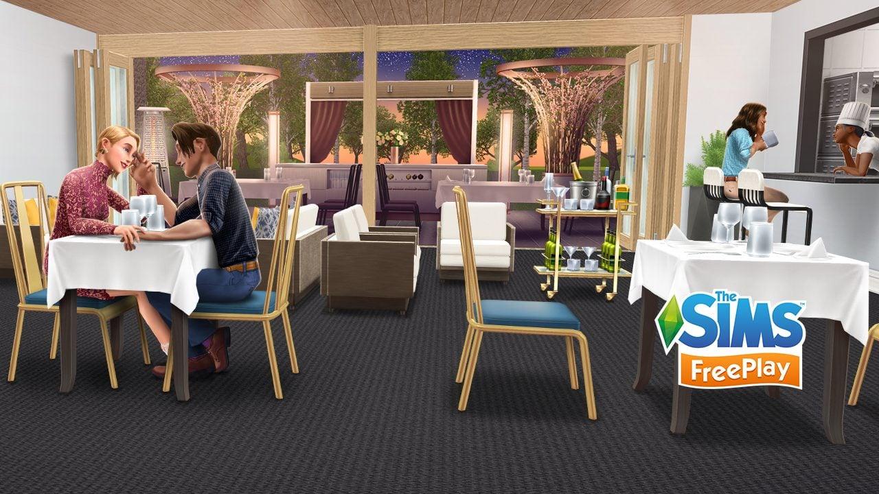 Débloquez les restaurants dans le dernier événement des Sims Freeplay