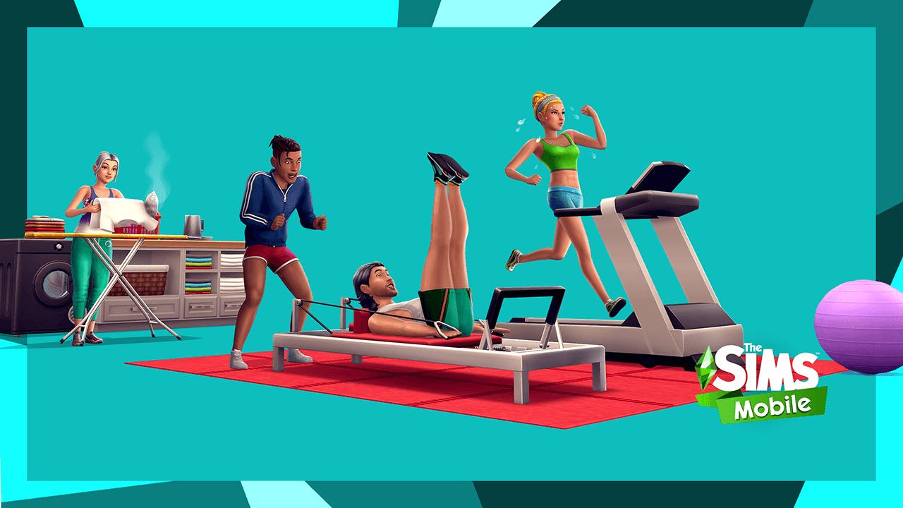 """Mise à jour """"Remise en forme"""" chez Les Sims Mobile"""