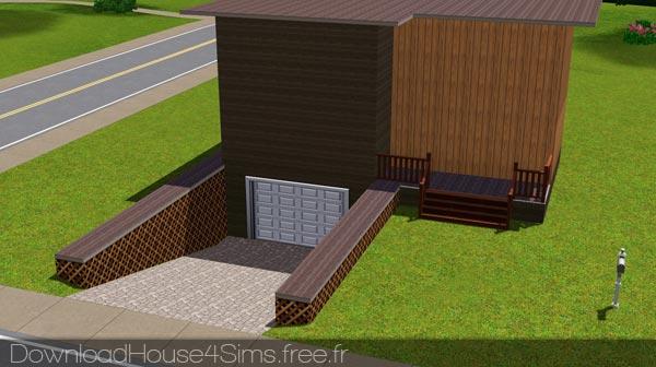 Comment créer un garage sous une fondation dans Les Sims 3 ?
