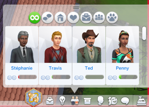 Relations sims 4