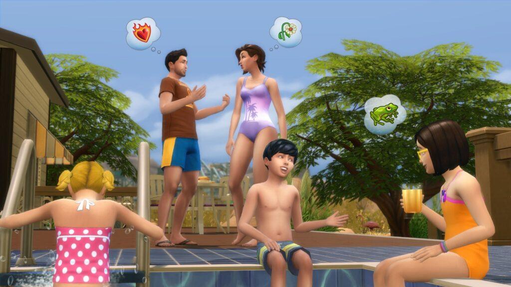 Les Sims 4 Piscine
