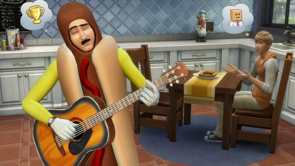 Les Sims 4 Hotdog