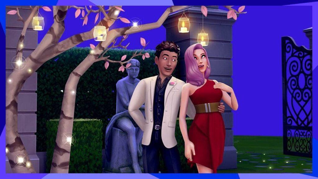 Les Sims Mobile Mise à jour rencard