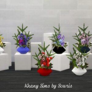 Vases à fleurs