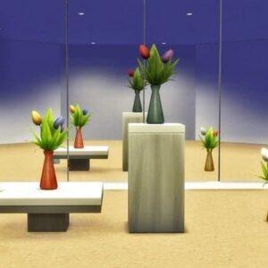 Tulipes : vases grès