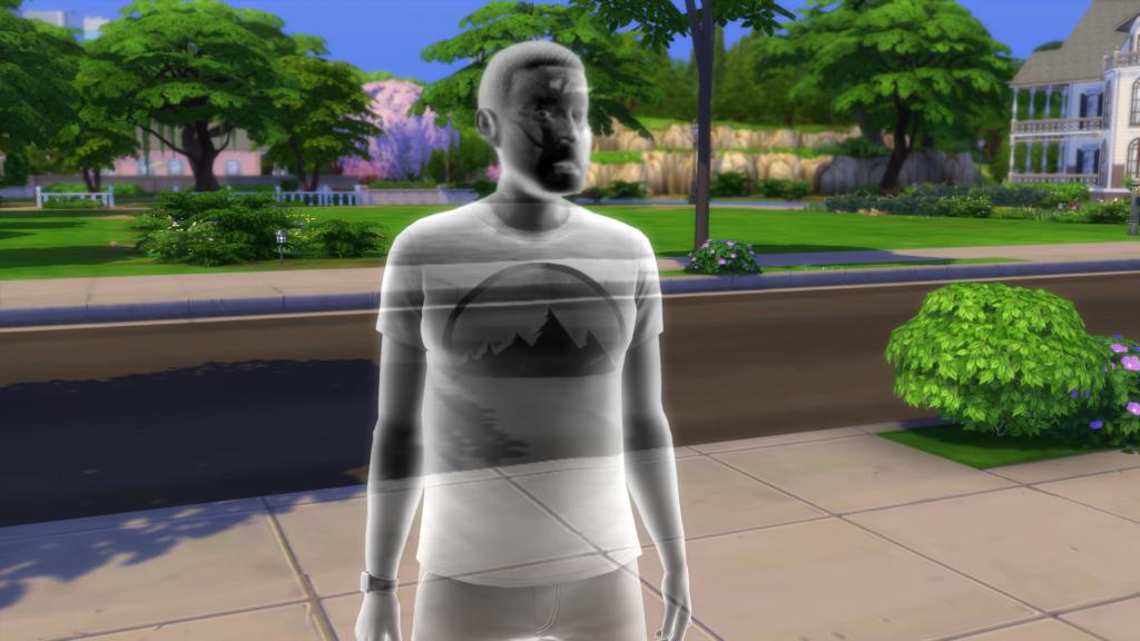 Fantôme mort de faim Sims 4