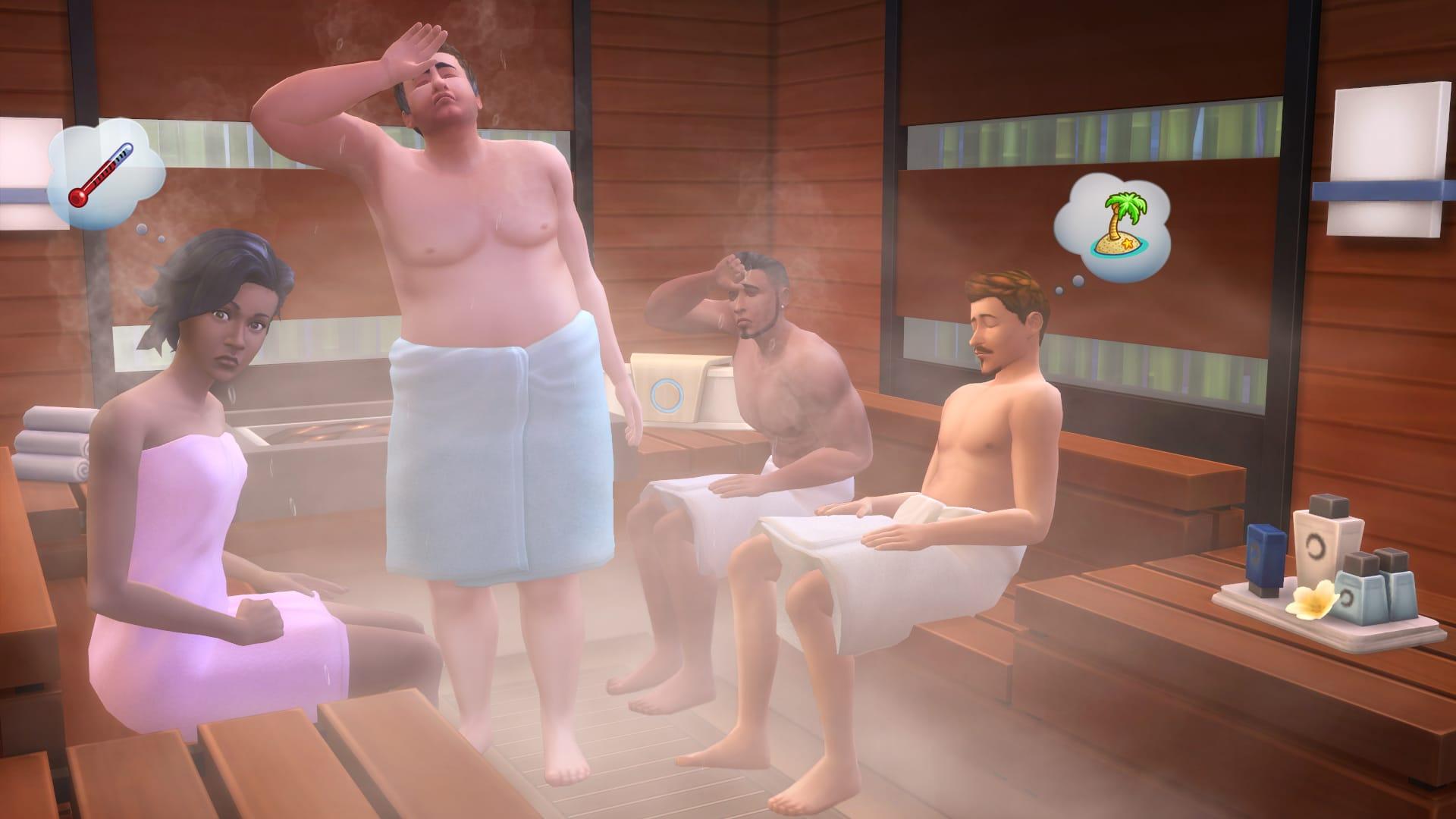Spa Sims 4 Sauna