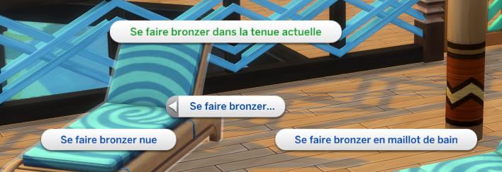 Bronzer sims 4 iles paradisiaques