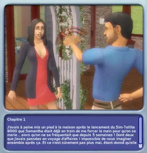Chapitre 1 Sims Histoires de Vie Lucas