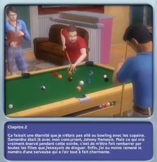 Chapitre 2 Sims Histoires de Vie Lucas