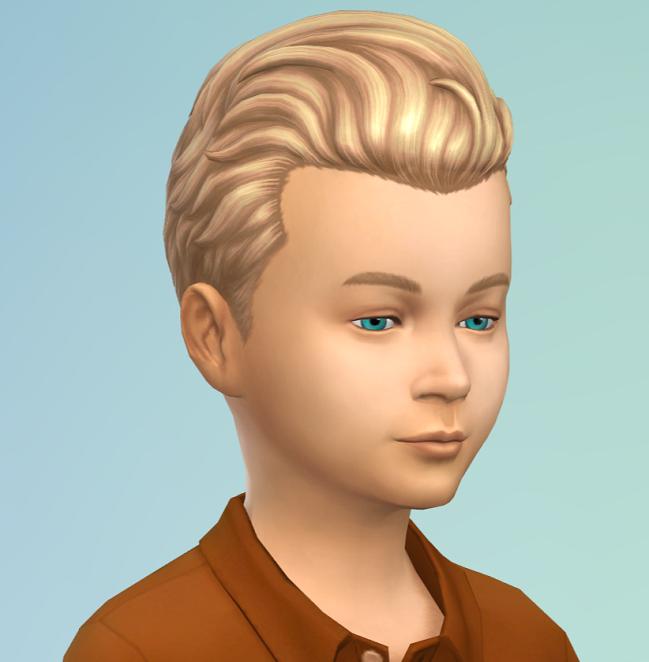 Les coiffures du kit Les Sims 4 Tricot de Pro