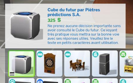 Le retour du Cube du Futur