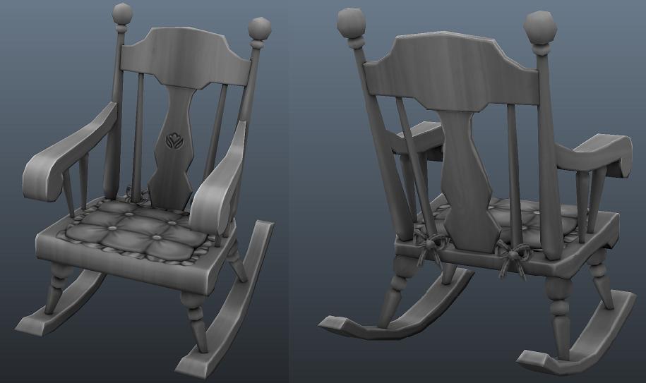Aperçu des rocking-chairs du kit Tricot de Pro