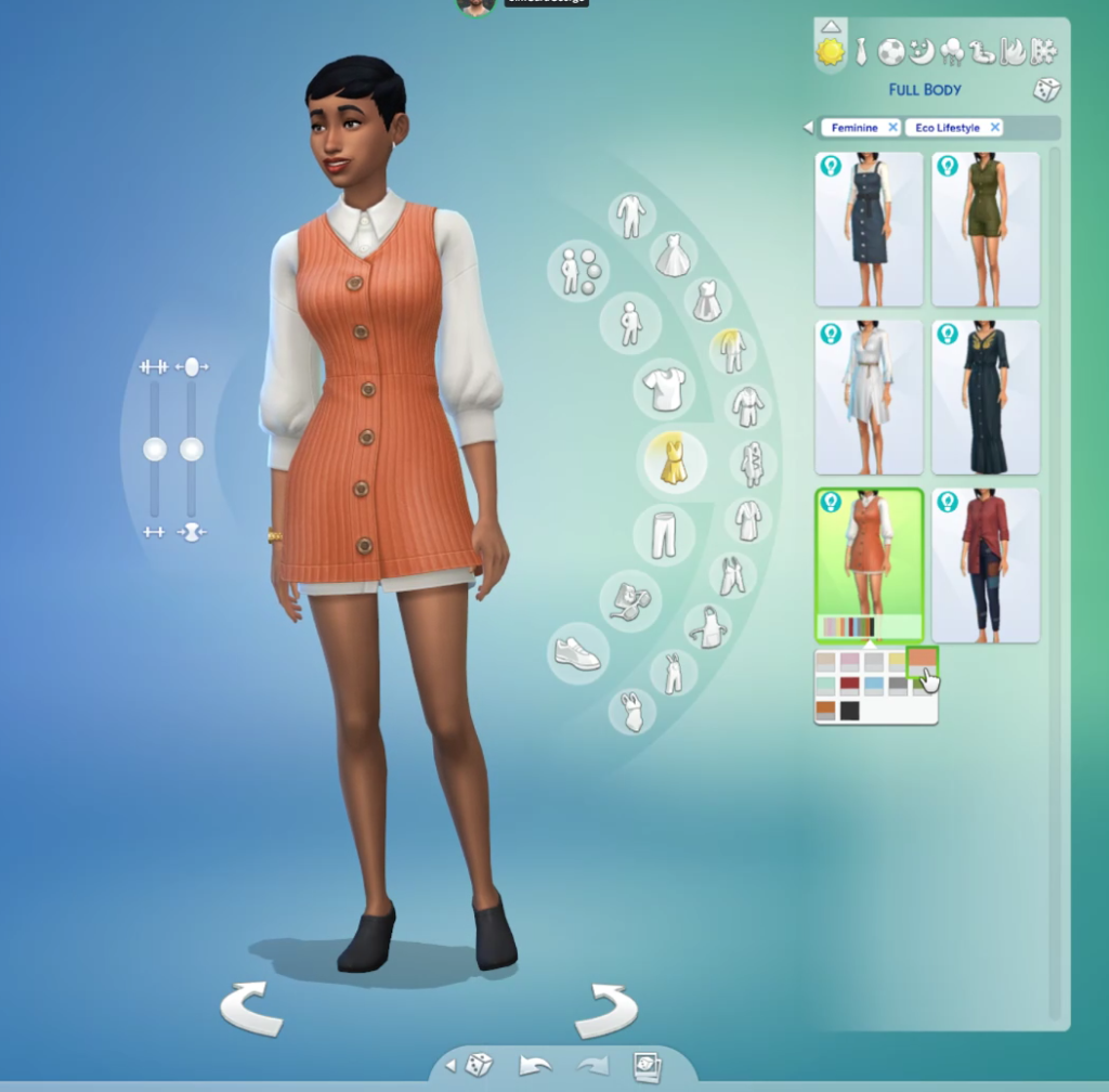 Vêtements sims 4 écologie