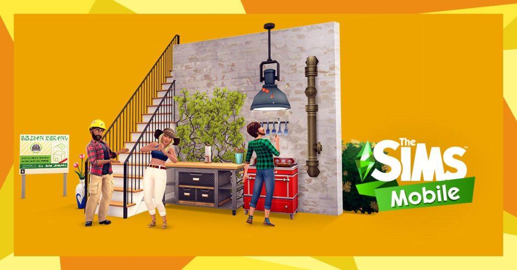 La possibilité de créer des étages arrive dans Les Sims Mobile