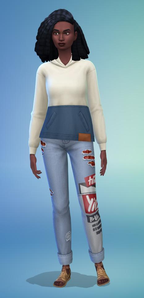 Le Créer Un Sims des Sims 4 Ecologie