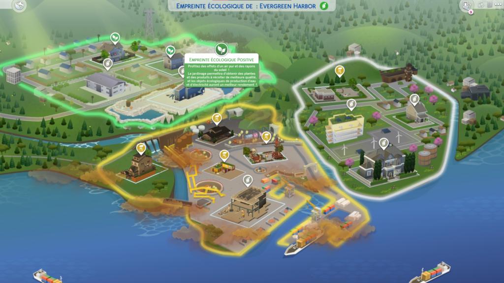 Empreinte écologique sims 4 écologie