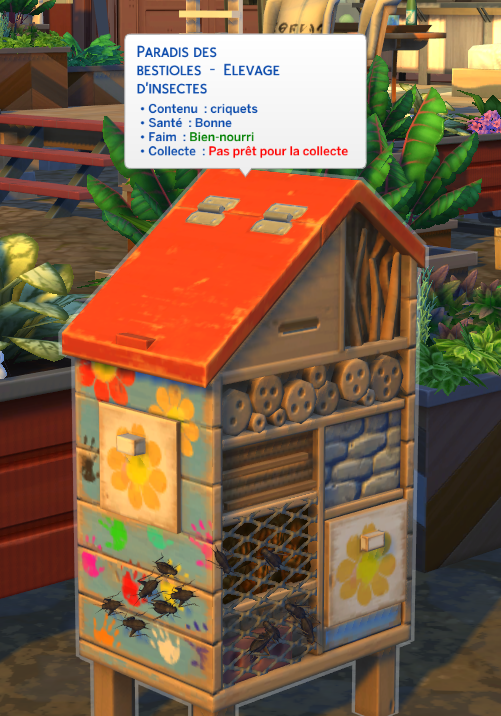Soins insectes sims 4 écologie