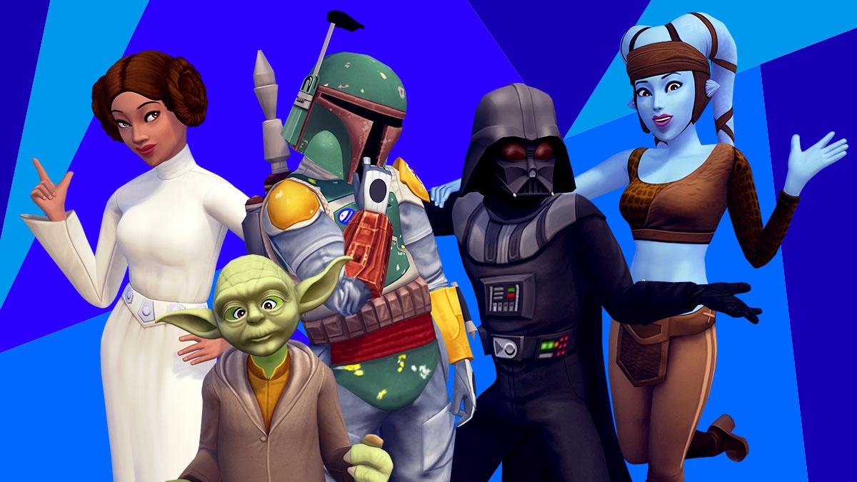 Des costumes Star Wars à débloquer dans LEs Sims Mobile