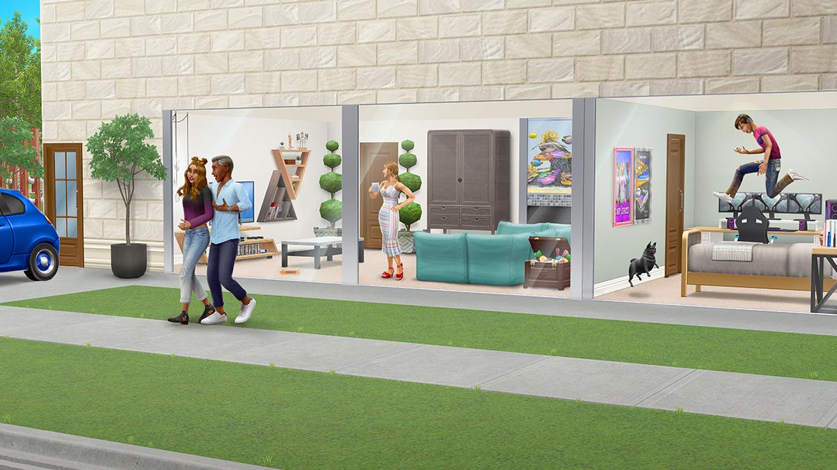 """Une mise à jour """"fun en famille"""" pour Les Sims Freeplay"""