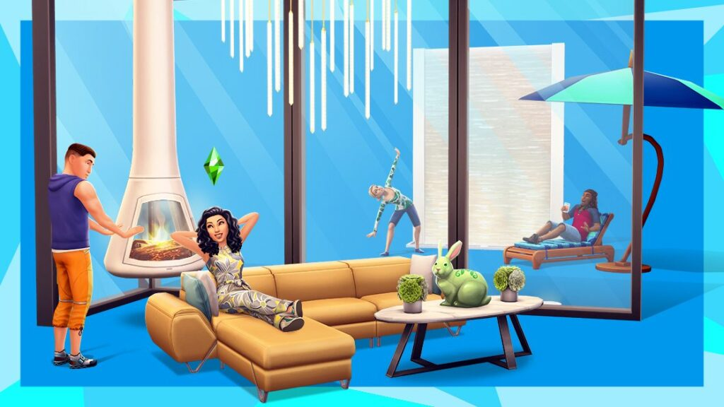 Du luxe et du moderne dans la nouvelle mise à jour des Sims Mobile