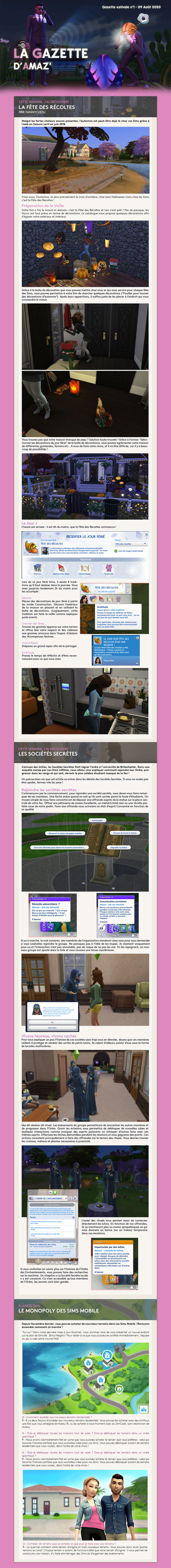 Gazette estivale n°1 Gazetteete1
