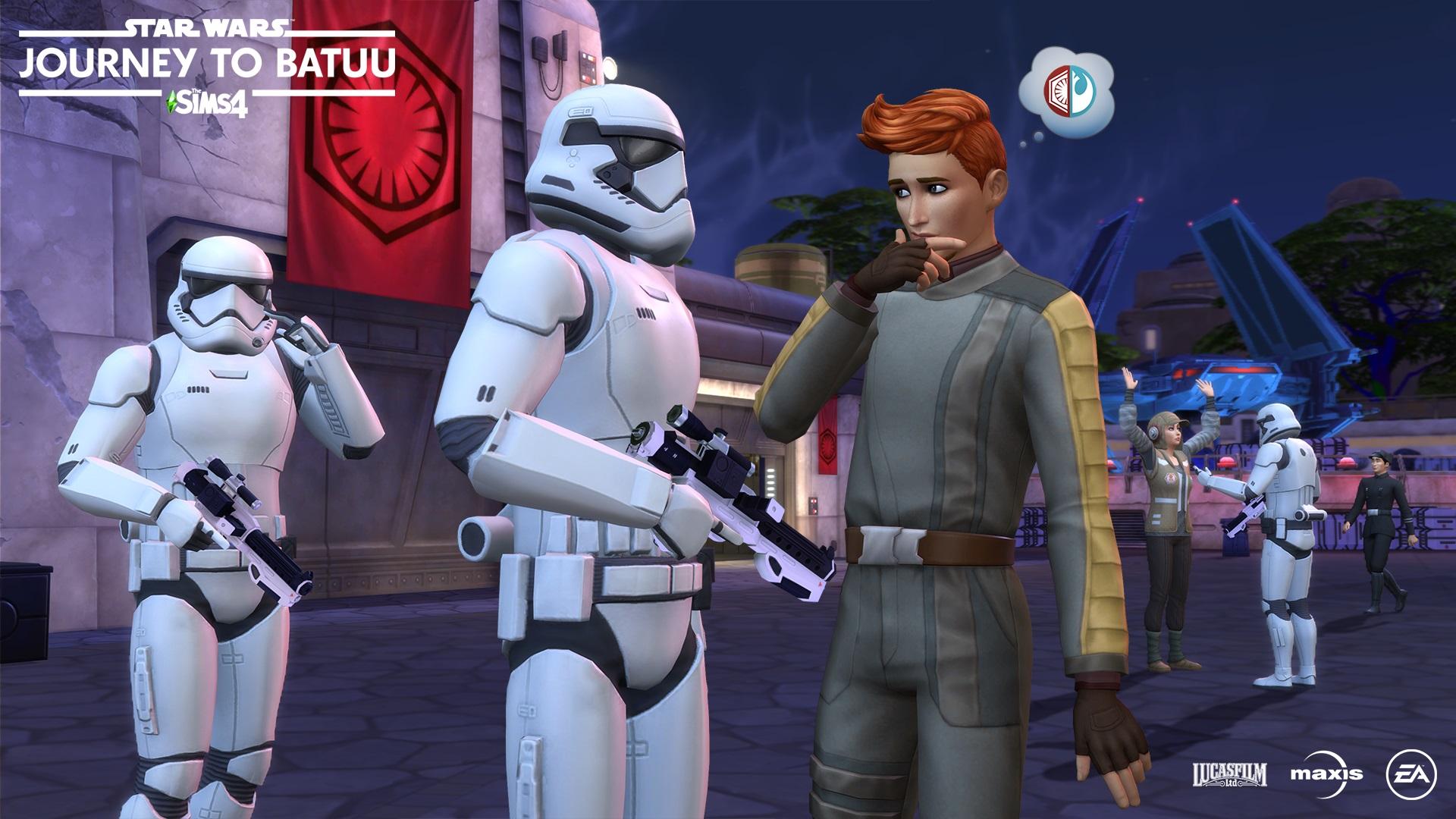 Les Sims 4 Star Wars Voyage sur Batuu arrive le 8 Septembre