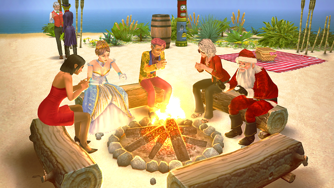 Koh-Lanta arrive chez Les Sims Freeplay