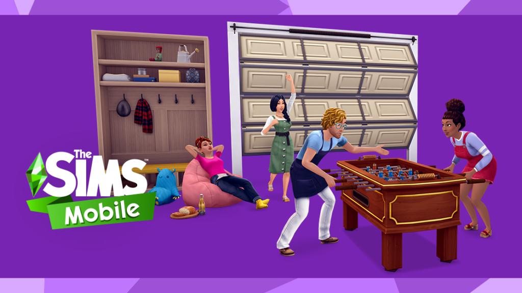 Un mode photo et de nouveaux étages dans Les Sims Mobile