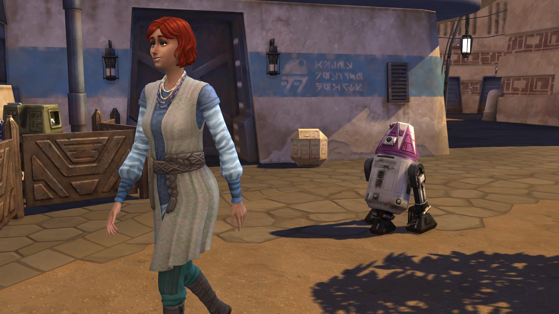 Comment utiliser les Droides dans Les Sims 4 ?