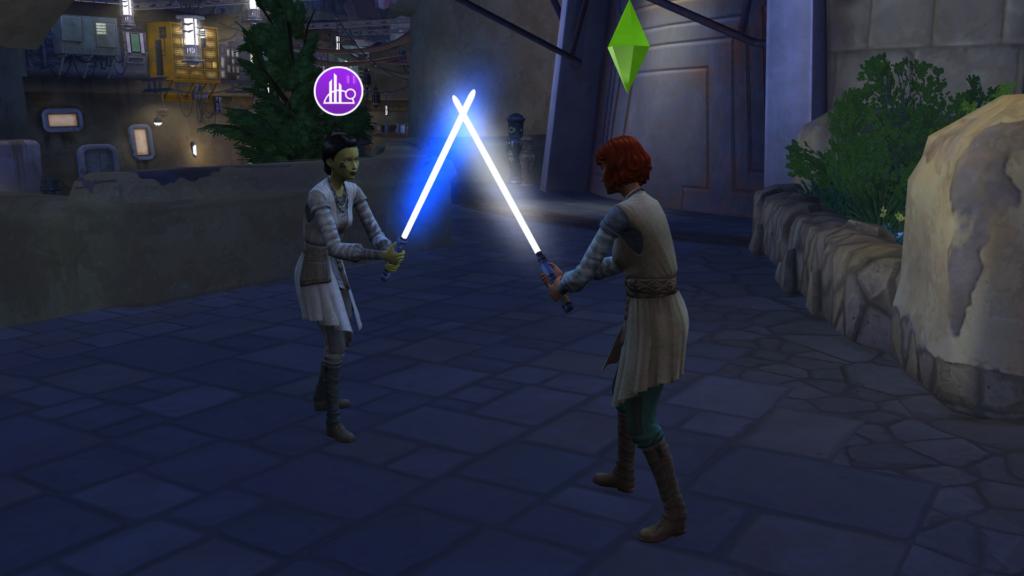 Comment utiliser les sabres-lasers des Sims 4 ?