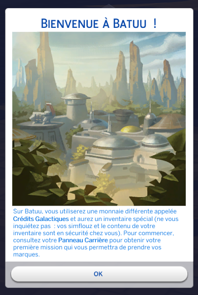 Test Les Sims 4 Star Wars Voyage sur Batuu