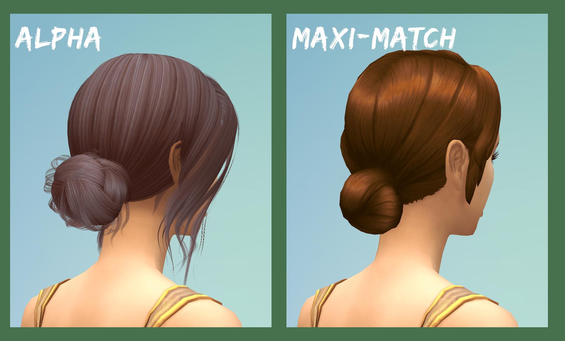 Alphas VS MaxisMatch - les différences !