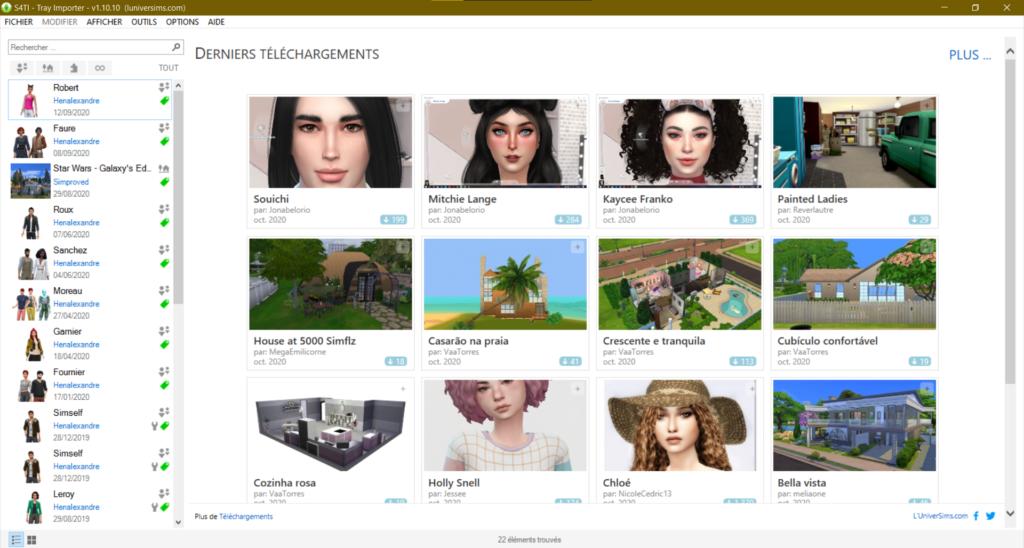 Comment utiliser le Sims 4 Tray Importer ?