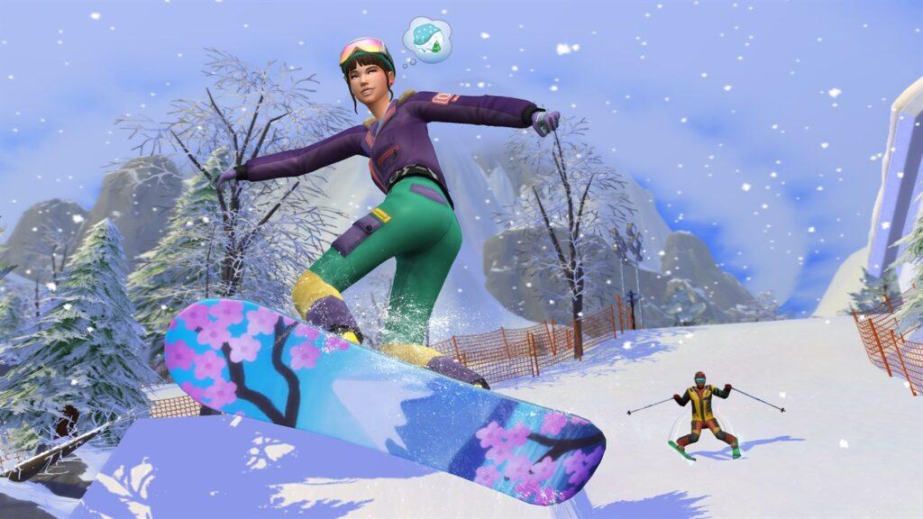 Du ski, de la luge et des sources chaudes dans la prochaine extension Sims 4
