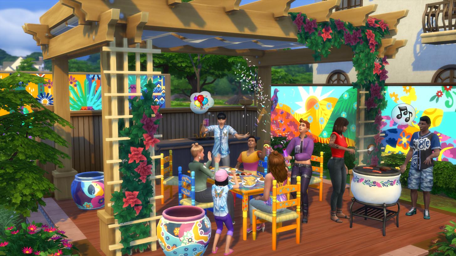 Mise à jour 1.67.45 des Sims 4