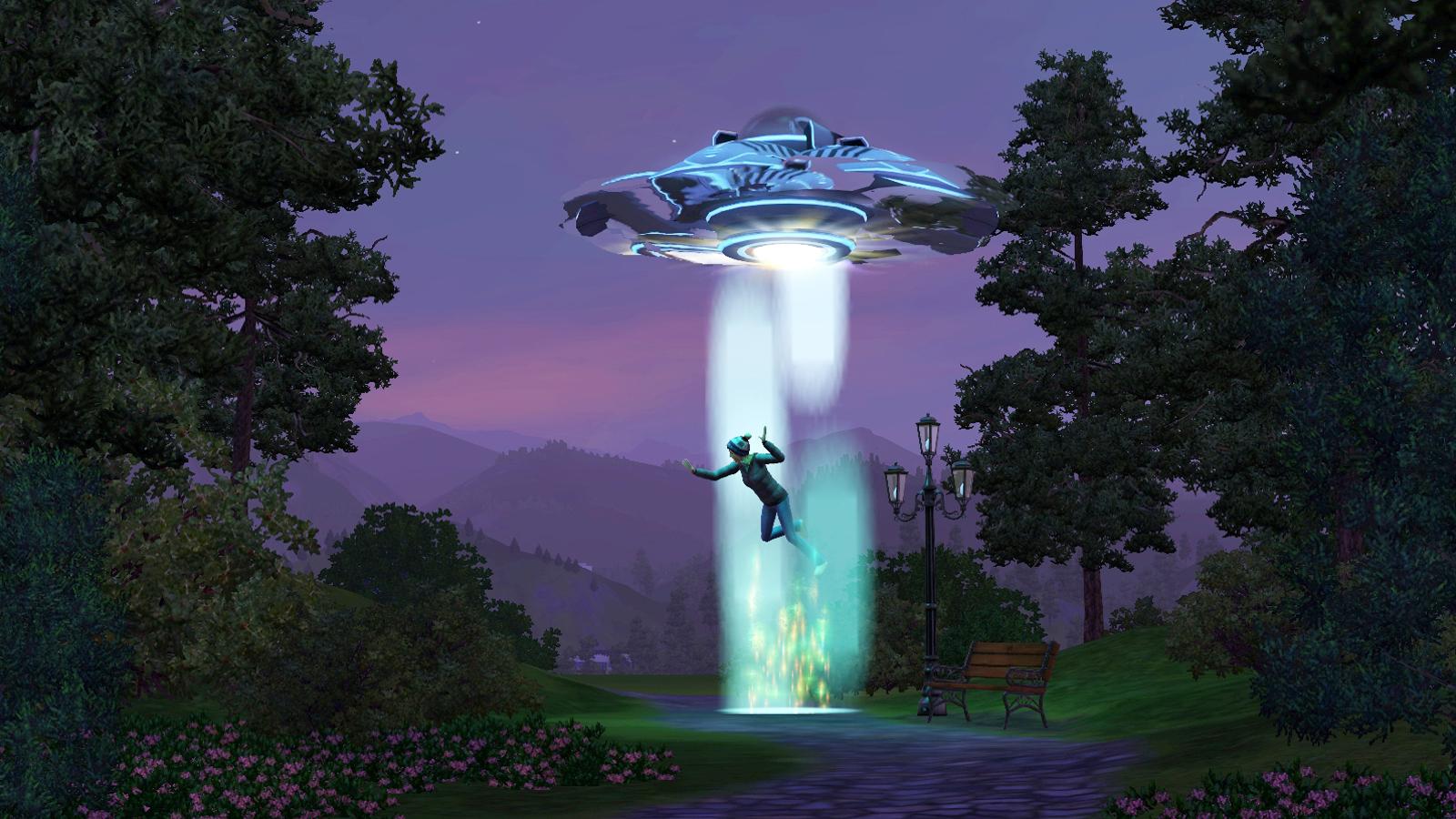 Astuces pour croiser des extraterrestres dans Les Sims 3