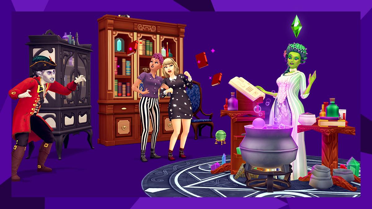 La mise à jour d'Halloween est arrivée pour Les Sims Mobile