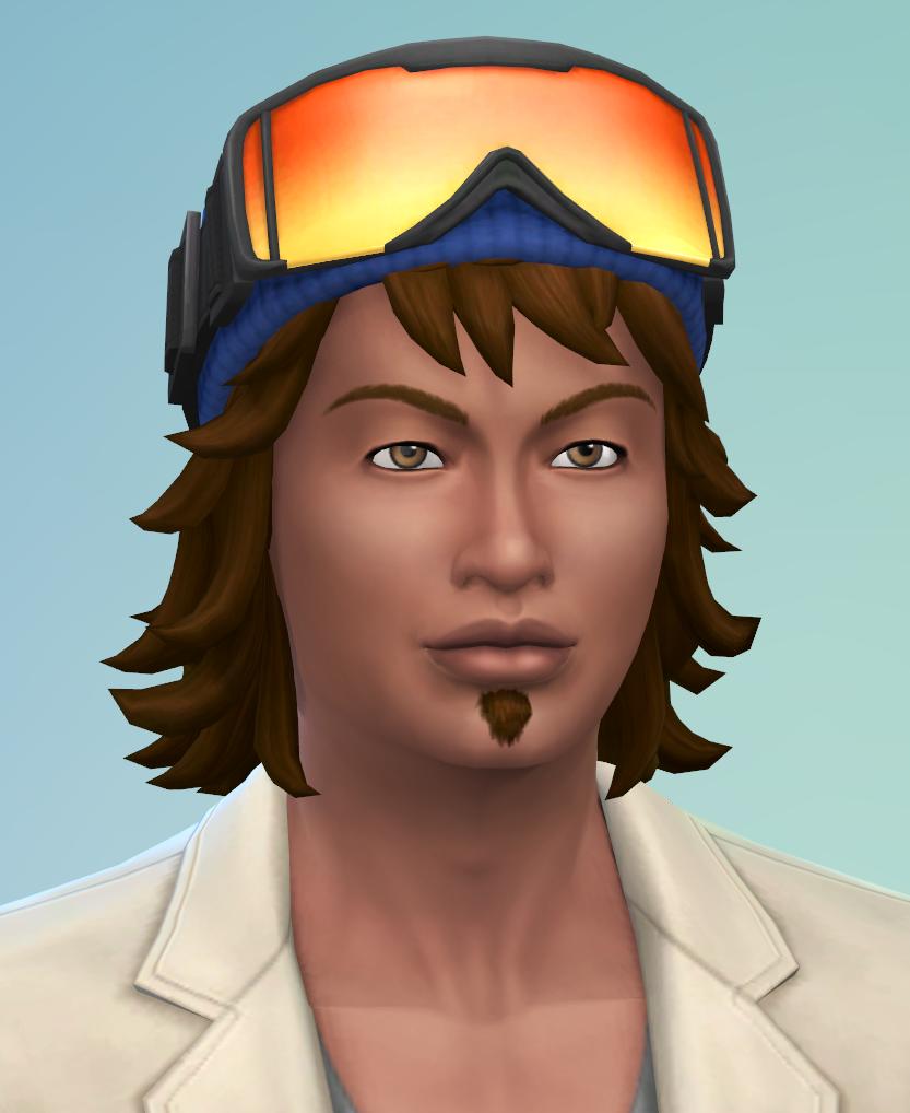 Aperçu du Créer Un Sim avec Escapade Enneigée