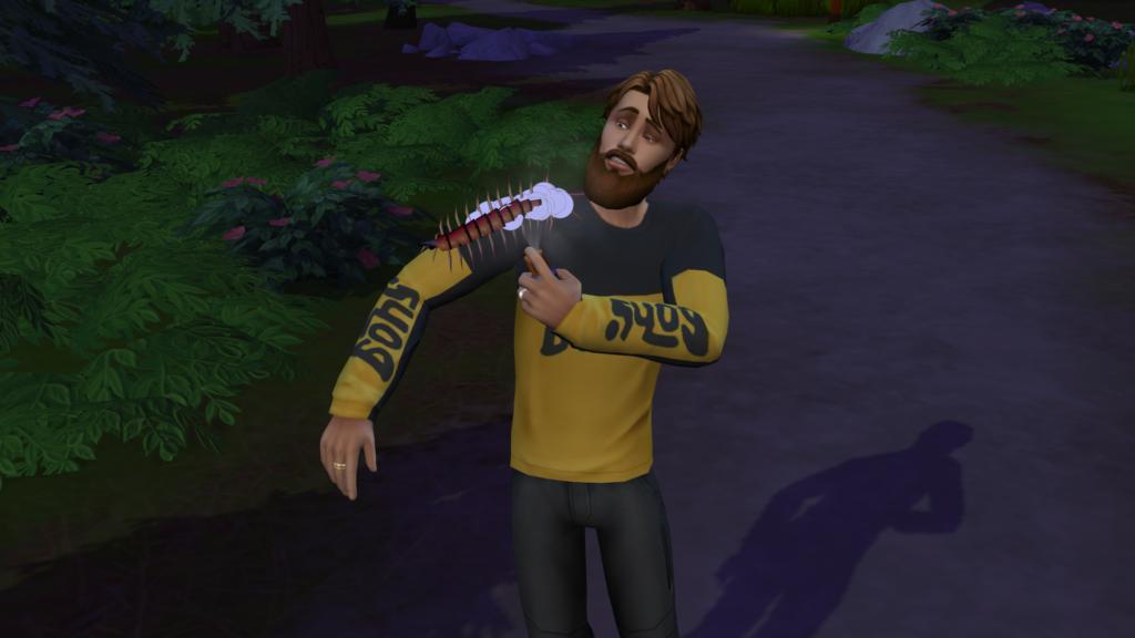 La randonnée avec Les Sims 4 Escapade Enneigée