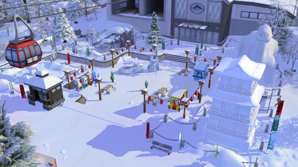 Les nouveautés du gameplay avec Escapade Enneigée