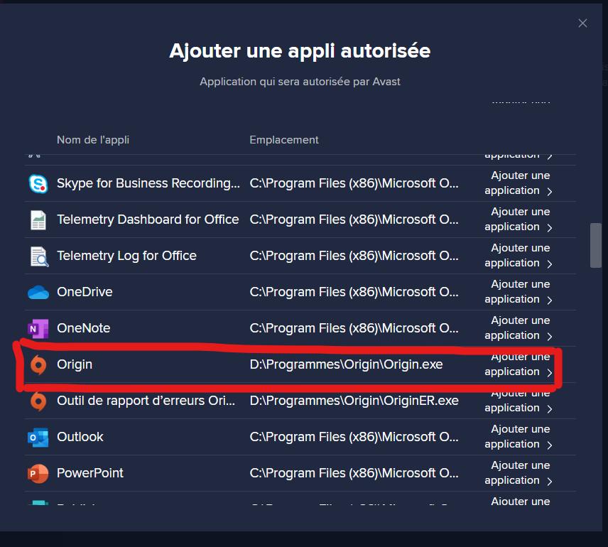 Ajouter Les Sims 4 aux exceptions de l'antivirus Capture-decran-2020-12-09-185947