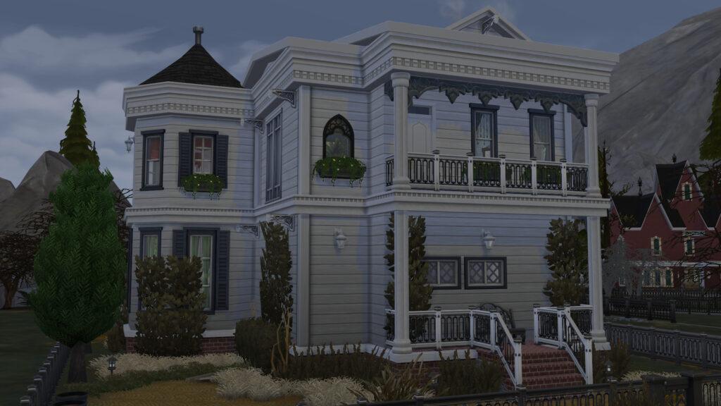 Les maisons hantées dans Les Sims 4 Paranormal