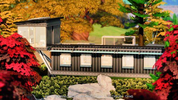 Villa d'architecte en container