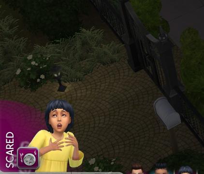 """Une nouvelle émotion """"Effrayé"""" dans la prochaine mise à jour des Sims 4"""