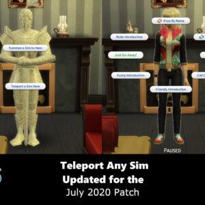 Sims 4 Teleporter