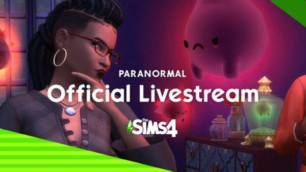 Présentation des Sims 4 Paranormal en direct ce soir à 20h