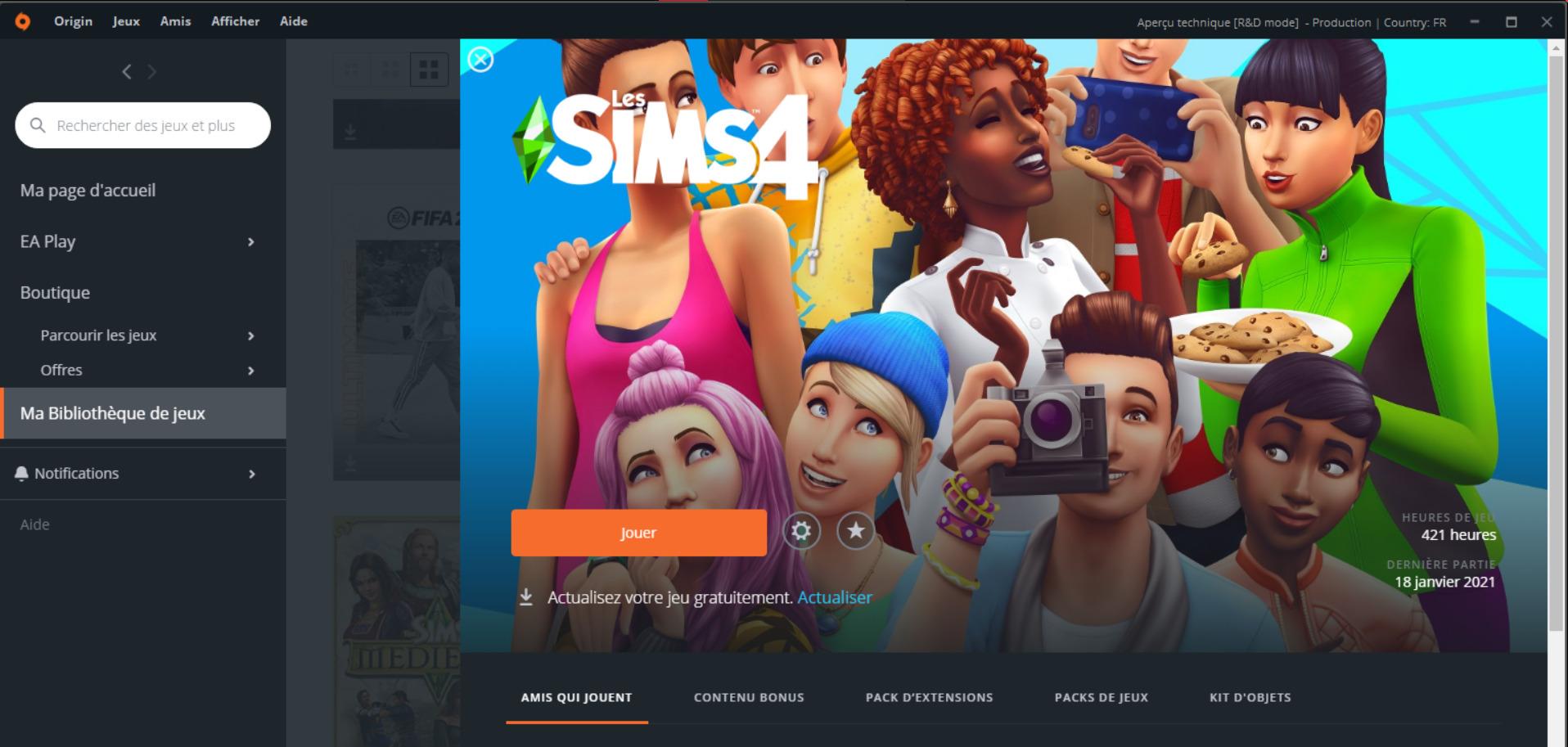 Comment enlever le contour blanc autour des Sims et des objets dans Les Sims 4 ?
